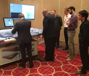 Show attendees get hands-on in the Cath Lab Simulation Experience.